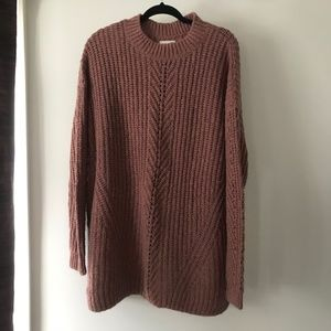 Lucky Brand Plus size Pink Sweater